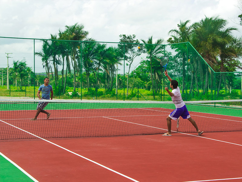 pista de tênis terras belas